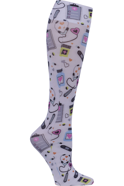Cherokee Socks and Hoisery Women FASHIONSUPPORT We Love Caregivers