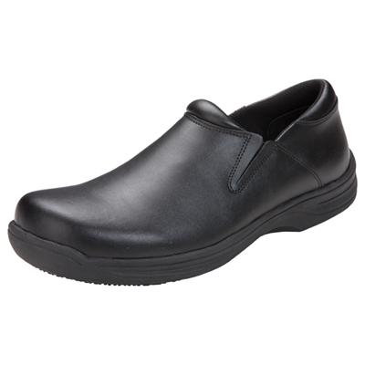 Medical Footwear Men's Slip Resistant Mens Step In Footwear Black