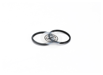 Littmann Unisex Littmann Spare Parts Kit Classic II Infa Black & Gray