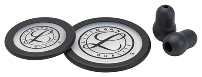 Littmann Unisex Littmann Spare Parts Kit Classic III Black