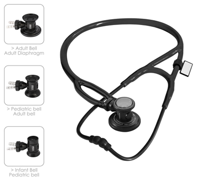 MDF Unisex MDF Sprague-X Stethoscope Black