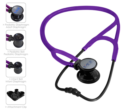 MDF Unisex MDF ProCardial ERA Stethoscope Purple