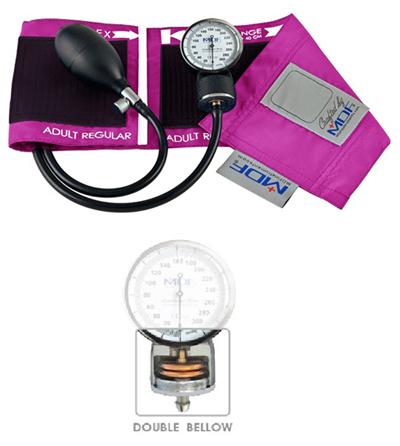 MDF Unisex MDF Calibra Pro Aneroid Sphygmomanometer Pink