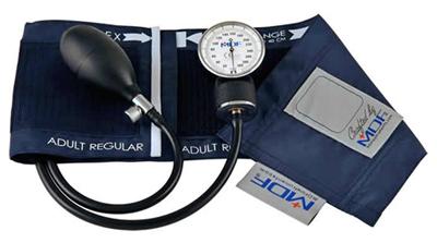 MDF Unisex MDF Calibra Pro Aneroid Sphygmomanometer Blue