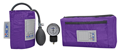 MDF Unisex MDF Calibra Pocket Aneroid Sphygmomanome Purple