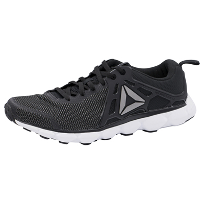 Reebok Men's MHEXAFFECTRUN Black,White,Pewter