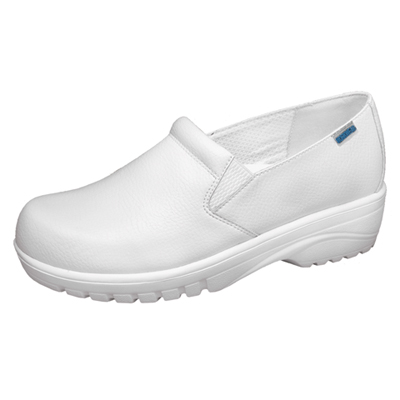 Cherokee Workwear Medical Footwear Women's Double Gore Step In Footwear White