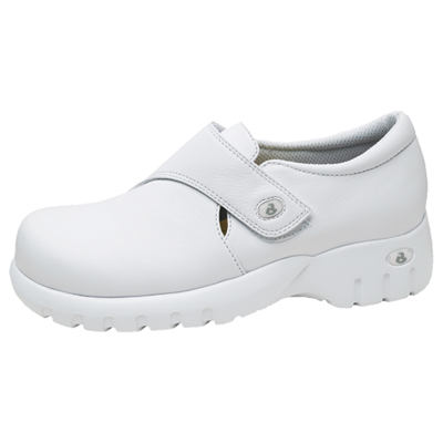 Cherokee Medical Footwear Women's Monk-Strap Step In Footwear White