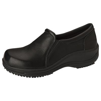 Anywear Women's Footwear - Leather Slip On Black