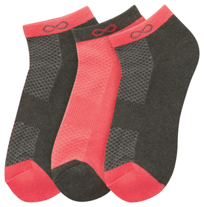 Infinity Socks Women SPARK Coral Grey