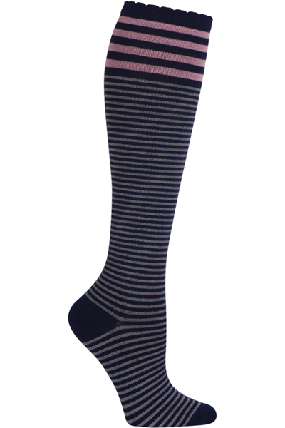 Celeste Stein Women's WLWN Pink Stripe on Navy