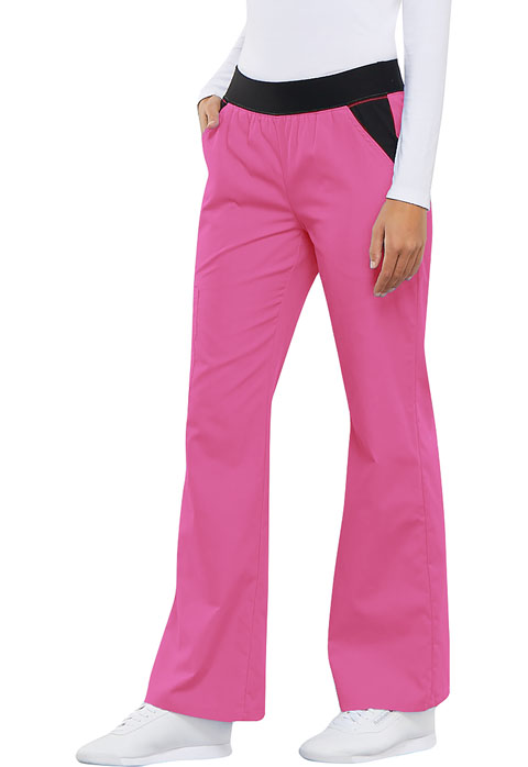 Photograph of Mid Rise Knit Waist Pull-On Pant