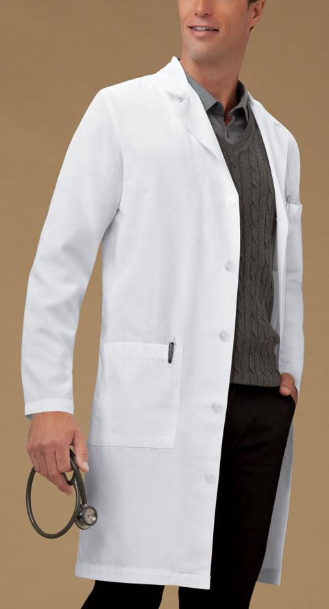 "Photograph of 40"" Men's Lab Coat"