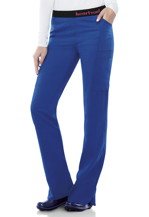 Head Over Heels Women's Low Rise Pull-On Pant Blue
