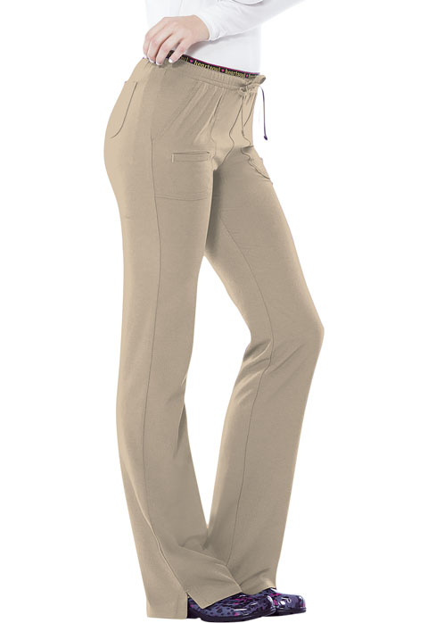 Break on Through Women's Low Rise Drawstring Pant Khaki
