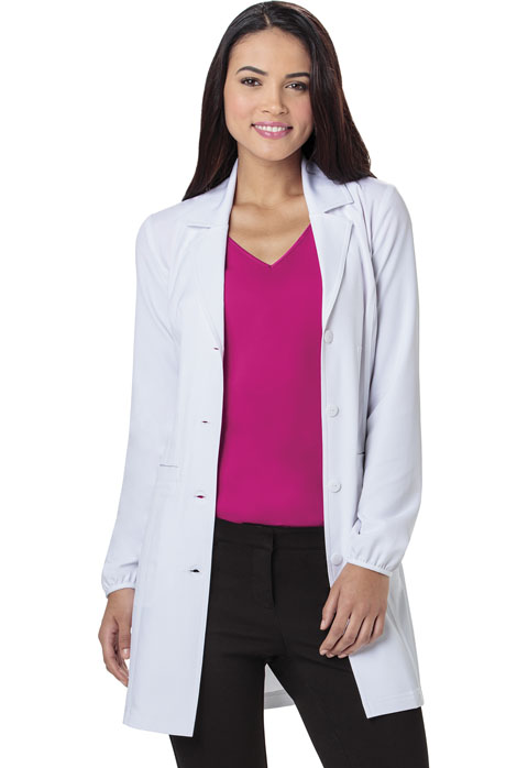 "HeartSoul Break on Through by HeartSoul Women's ""Lab-solutely Fabulous"" 34"" Lab Coat White"