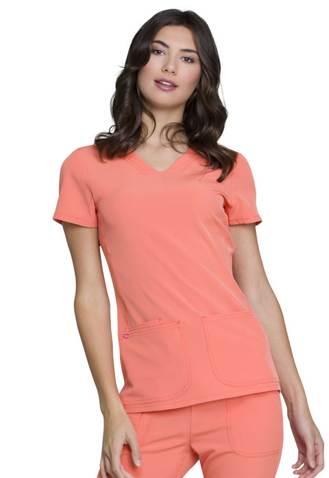 Break on ThroughShaped V-Neck Top