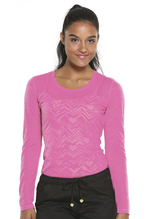 """""""After Your Heart"""" Underscrub Knit Tee"""