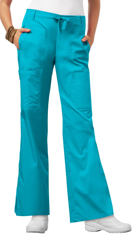 Photograph of Low Rise Flare Leg Drawstring Cargo Pant