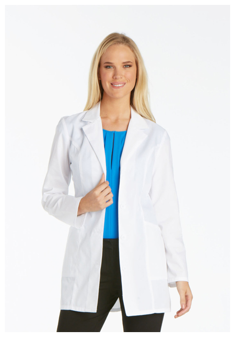 "Cherokee Professional Whites Women's 32"" Lab Coat White"