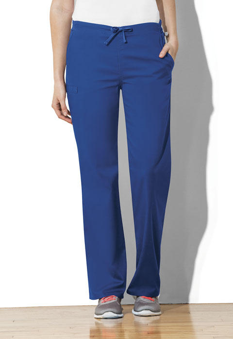 Workwear WW Flex Unisex Unisex Natural Rise Drawstring Pant Blue