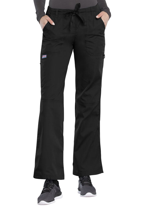 WW Originals Women Drawstring Cargo Pant Black