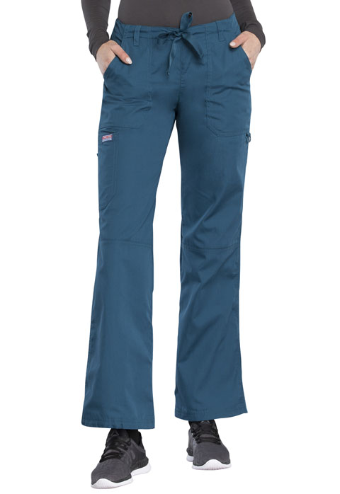 WW Originals Women Drawstring Cargo Pant Blue
