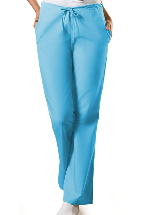 Photograph of Natural Rise Flare Leg Drawstring Pant