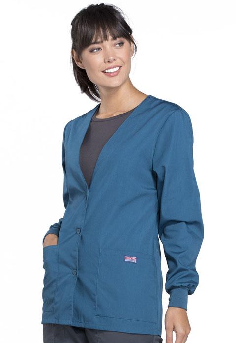 Photograph of Cardigan Warm-Up Jacket