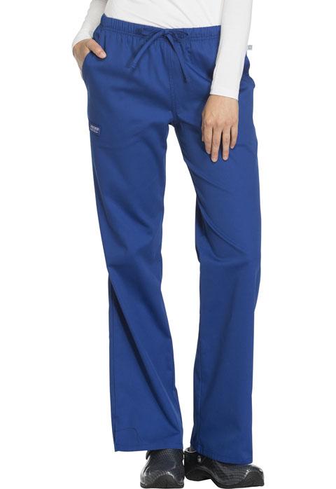 041ec23f47e Cherokee Workwear WW Flex Women's Mid Rise Moderate Flare  Drawstring Pant