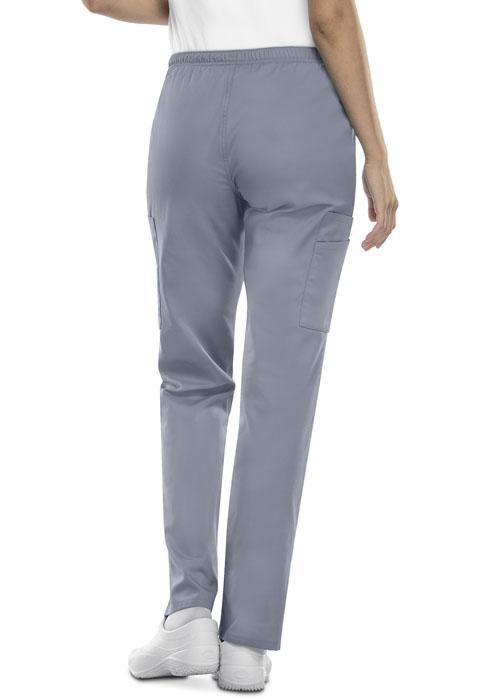 Photograph of Mid Rise Straight Leg Elastic Waist Pant