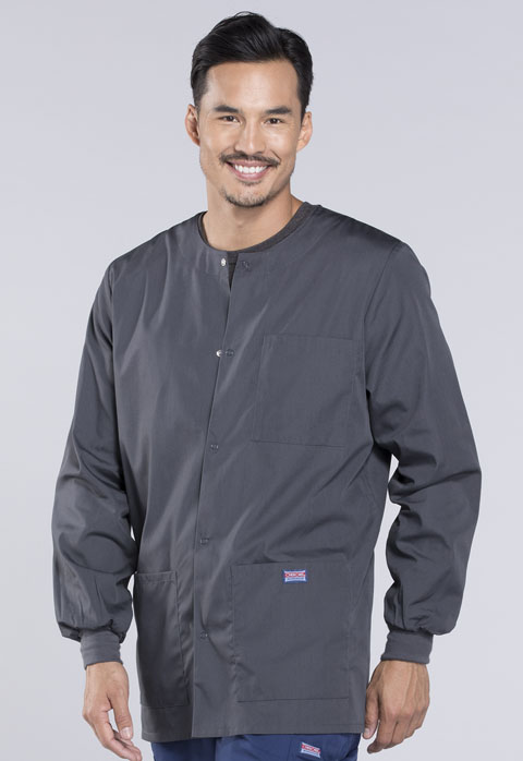 Photograph of Men's Snap Front Warm-Up Jacket