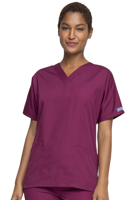 WW Originals Women V-Neck Top Purple