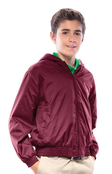 Photograph of Youth Unisex Zip Front Bomber Jacket