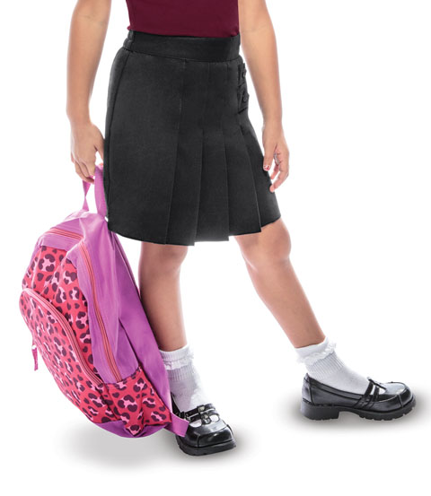 Photograph of Girls Pleated Tab Scooter