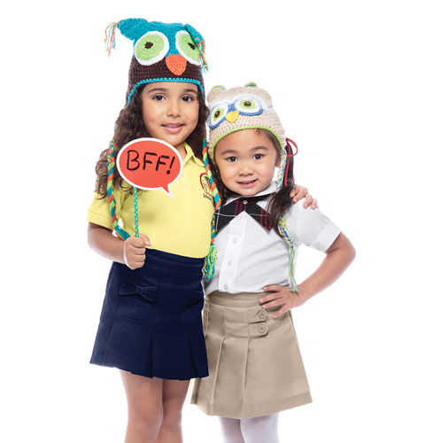 Photograph of Preschool Girls Bow Pocket Scooter