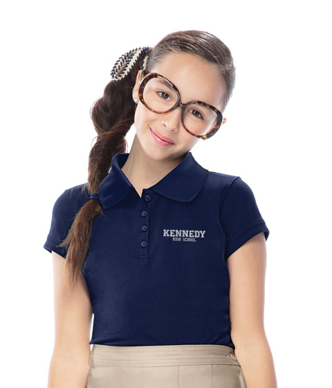 ClassroomGirls Stretch Pique Polo