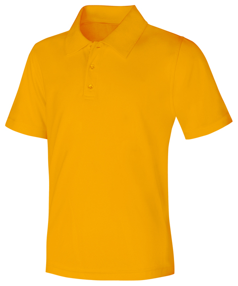 Classroom Uniforms Classroom Unisex Adult Unisex Moisture-Wicking Polo Shirt Yellow