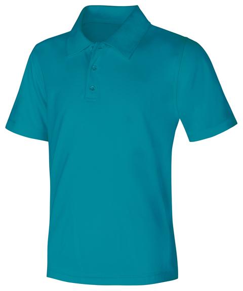 Classroom Uniforms Classroom Unisex Adult Unisex Moisture-Wicking Polo Shirt Blue