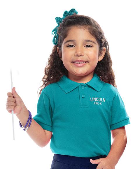 Photograph of Preschool Unisex SS Pique Polo