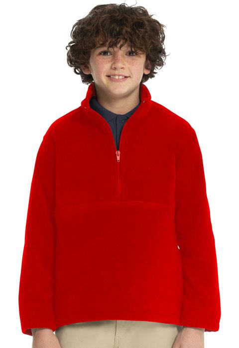 Photograph of Youth Unisex Polar Fleece Pullover