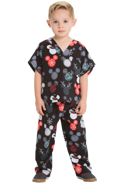 Licensed PrintsKids Top and Pant Scrub Set
