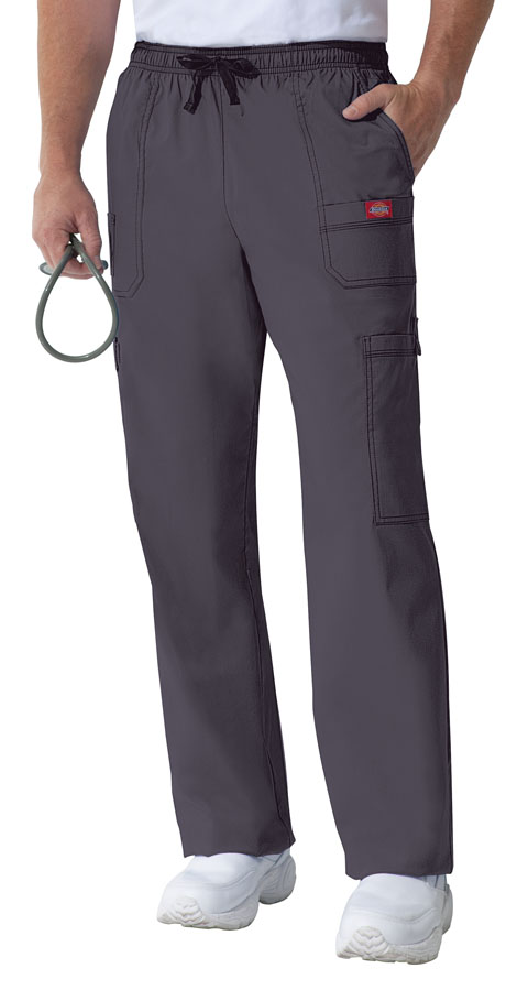 Dickies Gen Flex Men's Drawstring Cargo Pant in Light Pewter