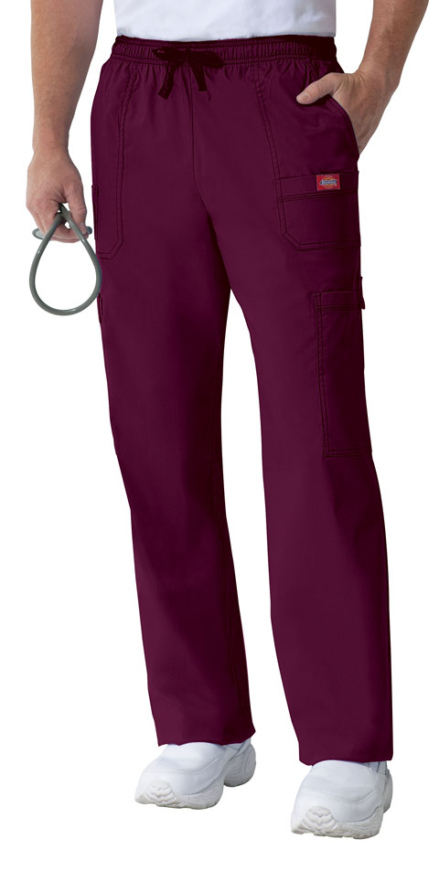 Gen Flex Men's Men's Drawstring Cargo Pant Red