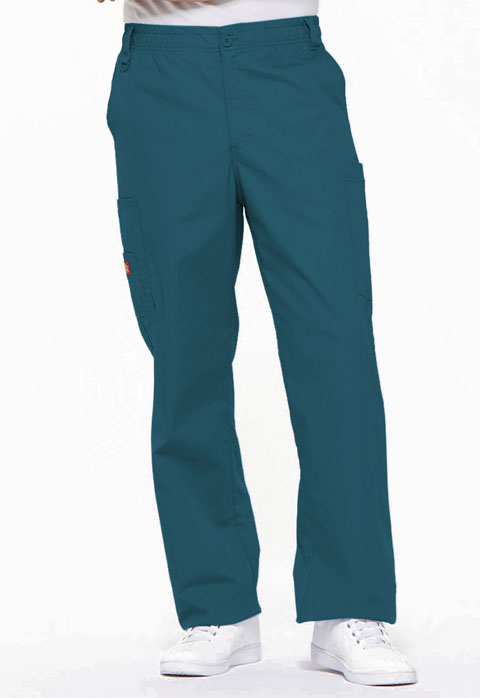 Dickies EDS Signature Men's Zip Fly Pull-On Pant in Caribbean Blue