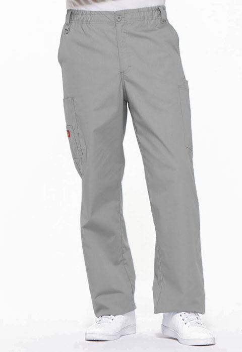 Dickies EDS Signature Men's Zip Fly Pull-On Pant in Grey