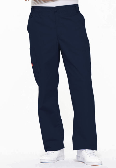 Dickies EDS Signature Men's Zip Fly Pull-On Pant in Navy