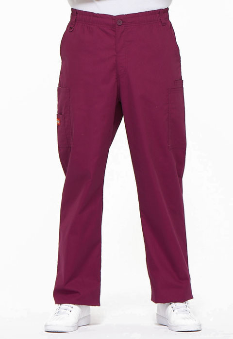 Dickies EDS Signature Men's Zip Fly Pull-On Pant in Wine