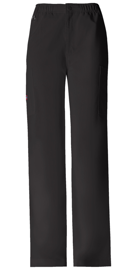Dickies Xtreme Stretch Men's Zip Fly Pull-On Pant in Black