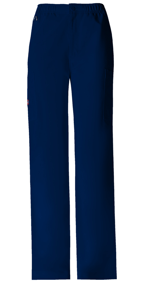 Dickies Xtreme Stretch Men's Zip Fly Pull-On Pant in D-Navy